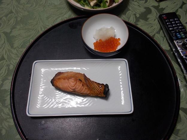 これぞ村上の伝統潮引き鮭の焼いたのと