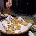 ハゼの天ぷらは美味なのであります。