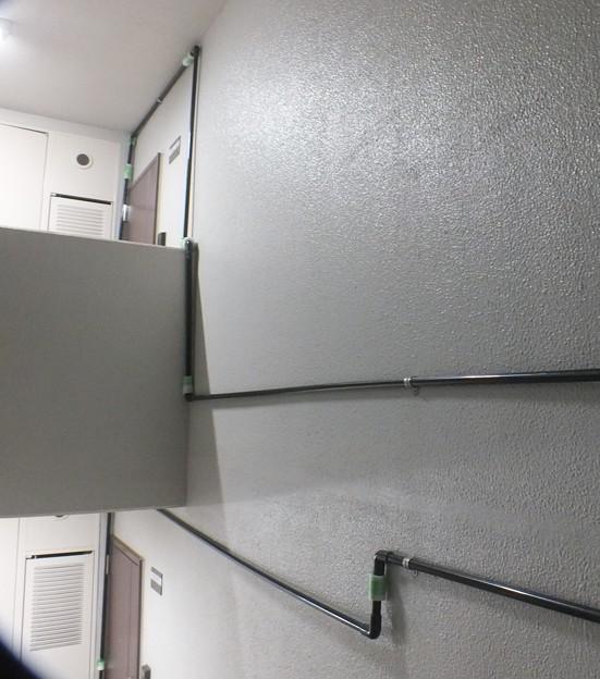 団地の共有配管設備工事