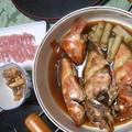 Photos: 煮つけと刺身ともつ煮