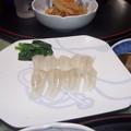 やっと刺身を食べられました