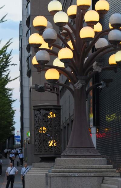 桜橋の街灯~♪