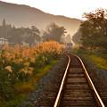 写真: 秋の北上線2