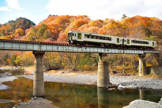 紅葉の山田線1