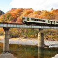 Photos: 紅葉の山田線1
