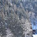 秋田内陸線の冬1