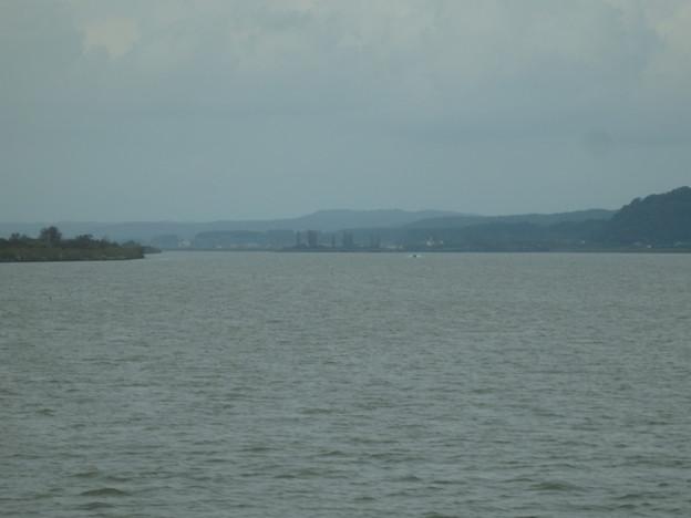 八郎潟残存湖の風景