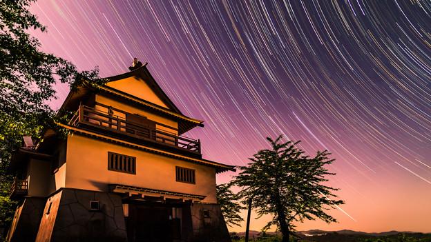 ~越後松代城を彩る星景~