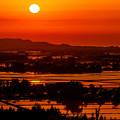 写真: ~上越市三和区の夕景~