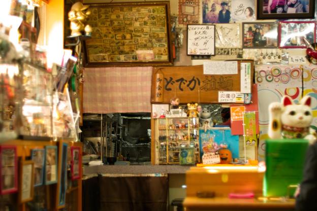 写真: 厨房の壁