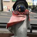 Photos: お地蔵様 おしゃれマスク