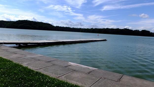 写真: 湖畔~