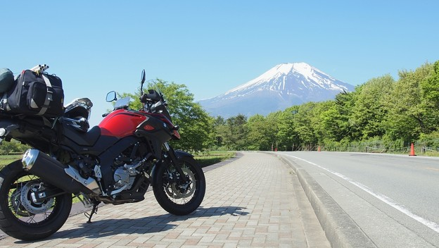 V-スト、富士山と~