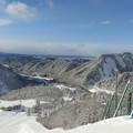 Photos: 米沢スキー場山頂から~