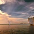 写真: 空雲湖帆
