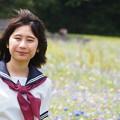 Photos: 葛西臨海公園、モデル望月玲奈さん