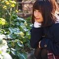 お茶の水駅付近、モデル望月玲奈さん