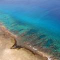 グアムの美しい海、サンゴ礁