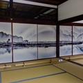 Photos: 美しい襖絵、京都市祇園大本山建仁寺にて撮影