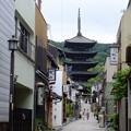 八坂の塔は京都祇園のシンボル