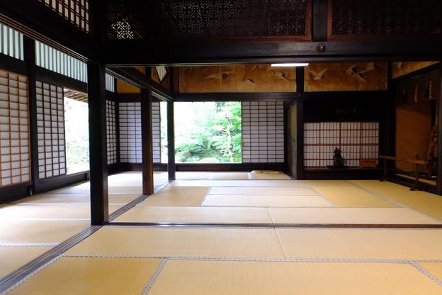 京都的お寺、書院造り?