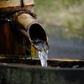 Photos: 水は地球の大切な資源、水の街長野県木曽郡大桑村須原宿