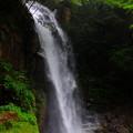 先日掲載しました滝の別角度からの撮影