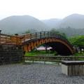 雨の日の奈良井大橋