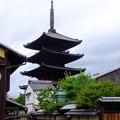 わりといい角度から撮影できた京都東山八坂の塔