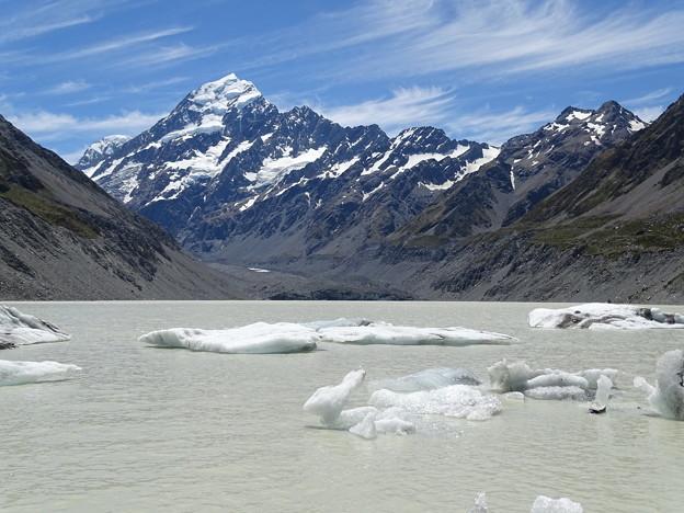 20.氷河湖(ニュージーランド)