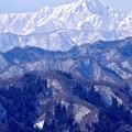 写真: 連なる峰々