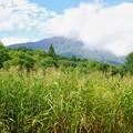 写真: 秋の飯縄山