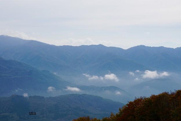 白馬岩岳山頂から