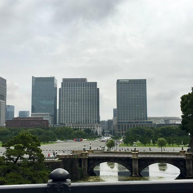 皇居からの二重橋