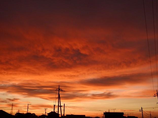 魅惑の夕焼け