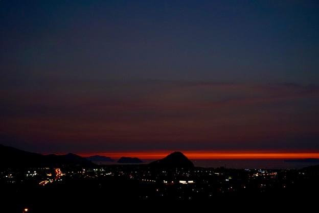 Photos: 萩の夕焼け