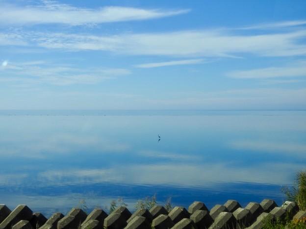 Photos: 海は蜃気楼