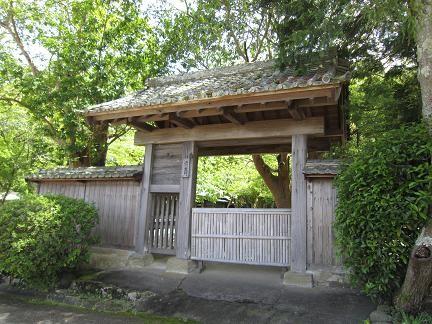 江川邸 裏門