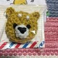 写真: 手編みのマグネット