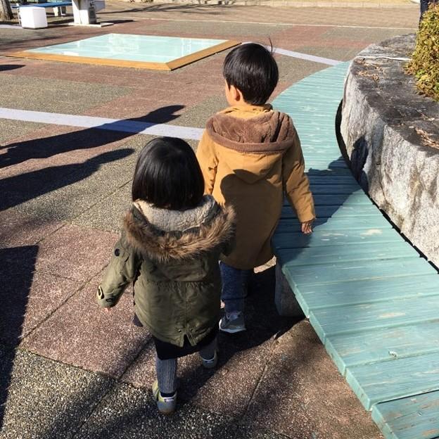 Photos: 兄妹