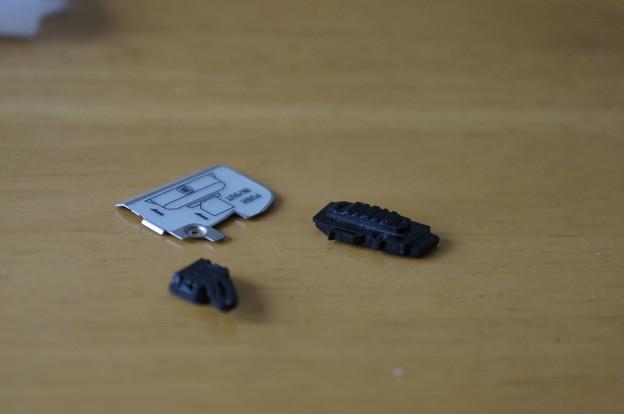 SDカードを入れる部分が壊れた