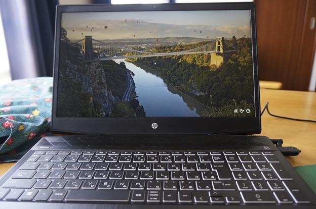 新しいパソコン