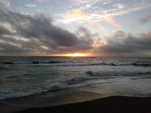 日本海の夕陽20200807 02