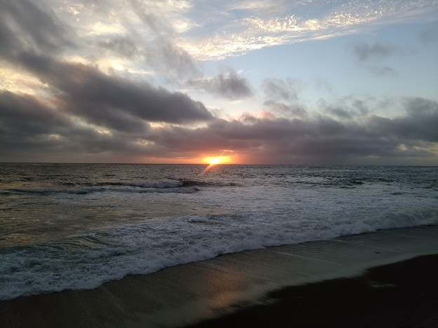 日本海の夕陽20200807 05