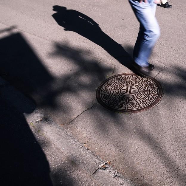 SILHOUETTE/北を歩く