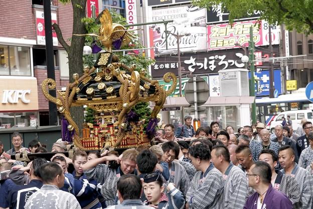 記録・札幌まつり/奉祝神輿 a