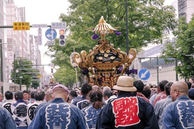 記録・札幌まつり/奉祝神輿 c