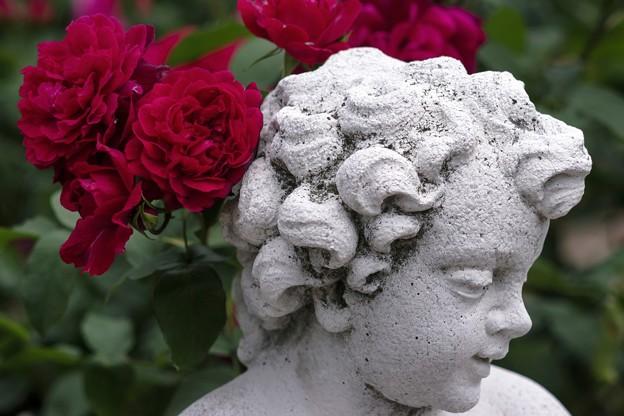 「花の髪飾り」