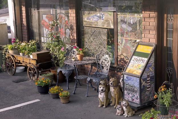 ガラスの街・小樽/ステンドグラスのお店