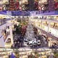 写真: Christmas tree in the atrium 3
